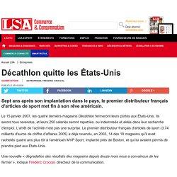 Décathlon quitte les États-Unis