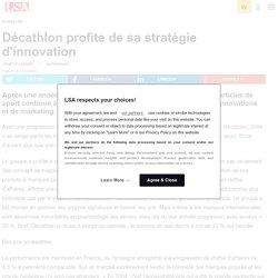 Décathlon et sa stratégie d'innovation