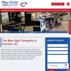 Decatur Sign Shop: Custom Signs, Graphics, Banners, Wraps