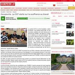Decazeville. La CGT alerte sur la souffrance au travail - 21/09/2013 - LaDépêche