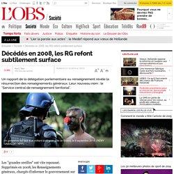 Décédés en 2008, les RG refont subtilement surface