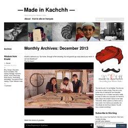 Made in Kachchh —