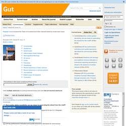 Gut — Current Issue