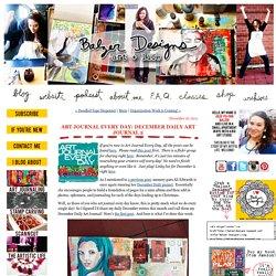 December Daily Art Journal 2