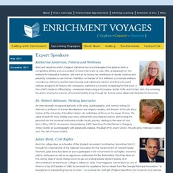 Expert Speakers | Enrichment Voyages