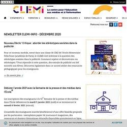 Décembre 2020- CLEMI