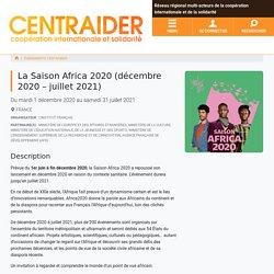 La Saison Africa 2020 (décembre 2020 - juillet 2021)...