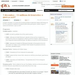 5 décembre – 14 millions de bénévoles: à quoi ça sert?