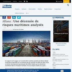 Une décennie de risques maritimes analysés