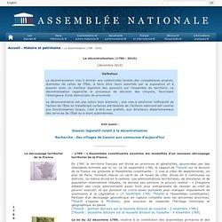 Histoire de la décentralisation 1789-2010) - Chronologie