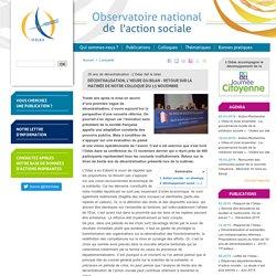 ODAS : Décentralisation, l'heure du bilan