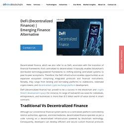 Emerging Finance Alternative