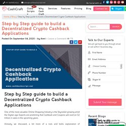 How to Build Decentralized Crypto Cashback Applications?