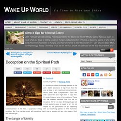 Deception on the Spiritual Path