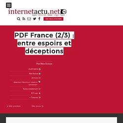 PDF France (2/3) : entre espoirs et déceptions