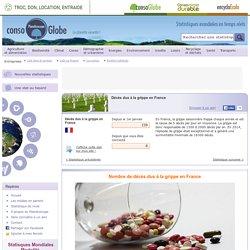 Décès dus à la grippe en France