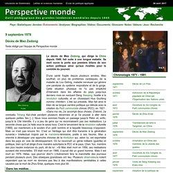 Décès de Mao Zedong