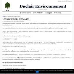 Les decharges sauvages - duclair environnement Duclair Environnement