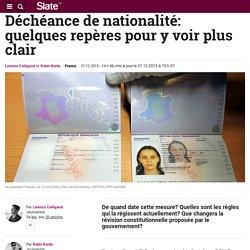 Déchéance de nationalité: quelques repères pour y voir plus clair