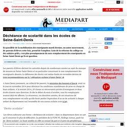 Déchéance de scolarité dans les écoles de Seine-Saint-Denis