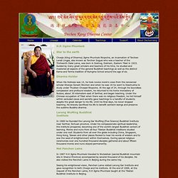 Dechen Rang Dharma Center - Home Page