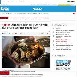 Défi Zéro déchet: «On ne veut plus engraisser nos poubelles»
