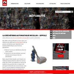 La Déchèterie Automatique Nicollin – Appulz