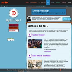 Déchiffrage - L'économie sur ARTE