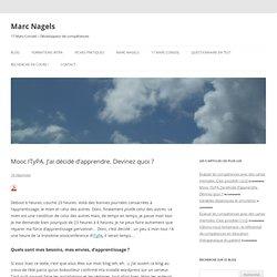 #ITyPA Blog Marc Nagels Plateforme d'apprentissage