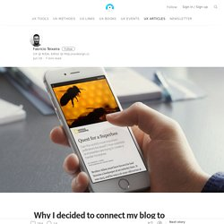 Why I decided to connect my blog to Facebook Instant Articles