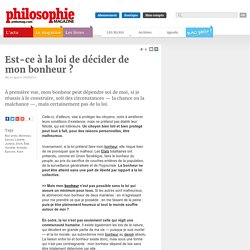 Annales, Bac philo, Bonheur, Devoir, Liberté, Justice, Droit, État, Société, Aristote, Épicure, Kant