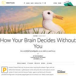 How Your Brain Decides Without You - Issue 19: Illusions
