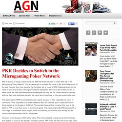 PKR Decides to Switch to the Microgaming Poker Network — Gambling News
