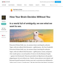 How Your Brain Decides Without You - Nautilus - Pocket