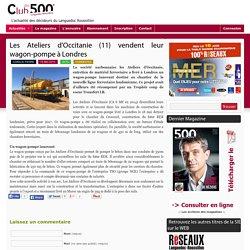 Les Ateliers d'Occitanie (11) vendent leur wagon-pompe à Londres