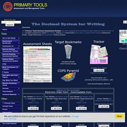 Decimal System for Writing - PrimaryTools.co.uk