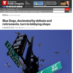 Blue Dogs, decimated by defeats and retirements, turn to lobbying shops