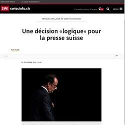 Une décision «logique» pour la presse suisse