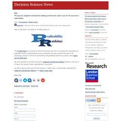 decisionsciencenews