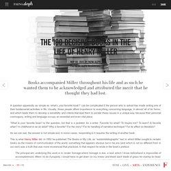 Los 100 libros decisivos en la vida de Henry Miller