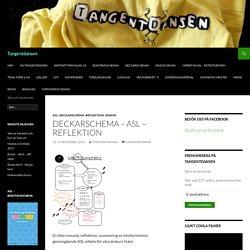 Deckarschema – ASL – reflektion