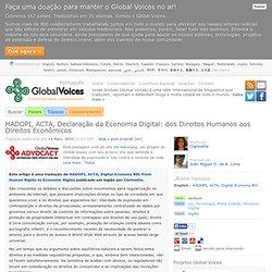 Global Voices em Português » HADOPI, ACTA, Declaração da Economi