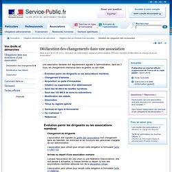 Circuit administratif d 39 une asso pearltrees - Declaration changement bureau association ...