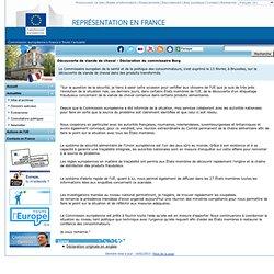 EUROPE 14/02/13 Découverte de viande de cheval - Déclaration du commissaire Borg