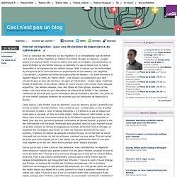 Internet et migration : pour une déclaration de dépendance du cyberespace - Ceci n'est pas un blog