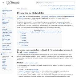 Déclaration de Philadelphie