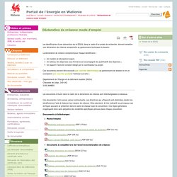 Déclaration de créance: mode d'emploi