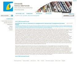 Déclaration de l'UFA sur l'importance de l'enseignement de l'allemand dans l'enseignement secondaire français - dfh - ufa