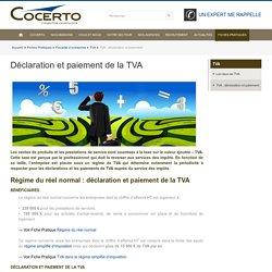 TVA : déclaration et paiement - Cabinet d'expertise comptable