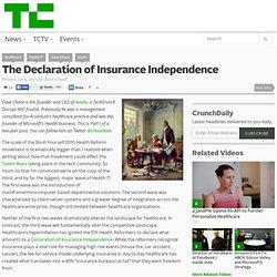 The Declaration of Insurance Independence